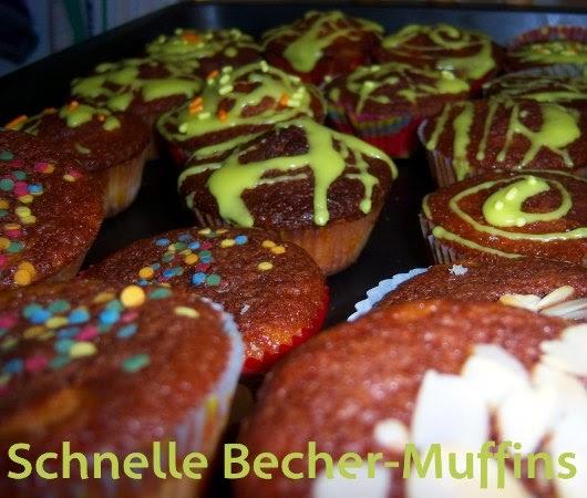 kathrins blog schnelle becher muffins. Black Bedroom Furniture Sets. Home Design Ideas