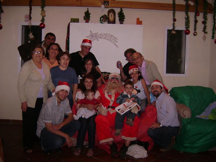 feliz navidad y prospero año 2008