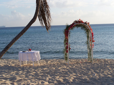 Grand Cayman Wedding - Unity Sand Ceremony