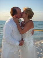 Cayman Wedding ...The Kiss! - image 7