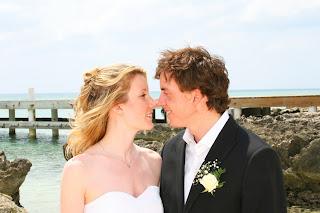 Cayman Wedding ...The Kiss! - image 1