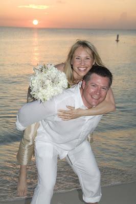 Canadian Couple Enjoy their Governor's Beach Wedding - image 2