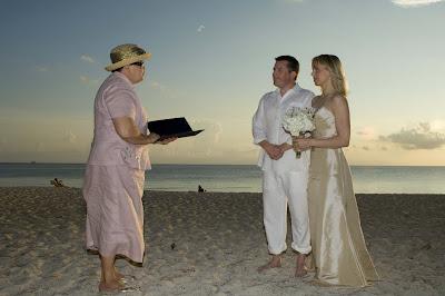 Canadian Couple Enjoy their Governor's Beach Wedding - image 1