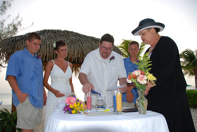 Sand Ceremony, Wedding Vow Renewal, Grand Cayman - image 4