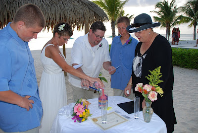 Sand Ceremony, Wedding Vow Renewal, Grand Cayman - image 8