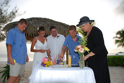 Sand Ceremony, Wedding Vow Renewal, Grand Cayman - image 7