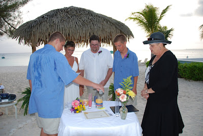 Sand Ceremony, Wedding Vow Renewal, Grand Cayman - image 6