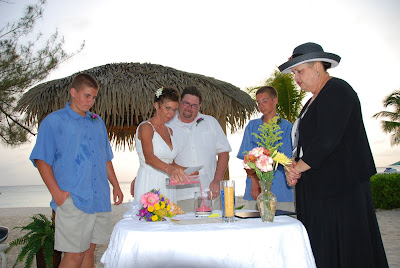 Sand Ceremony, Wedding Vow Renewal, Grand Cayman - image 5