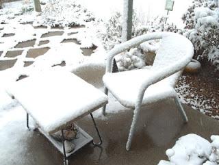 patio chair april