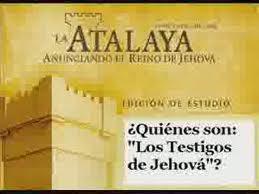 DE LIBRO TESTIGOS JEHOVA ORGANIZADOS