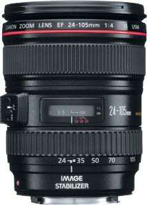 Canon 24-105mm EF f/4 L IS USM