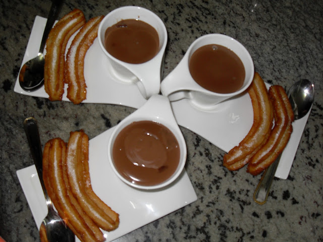 Chocolate con churros Ana Sevilla