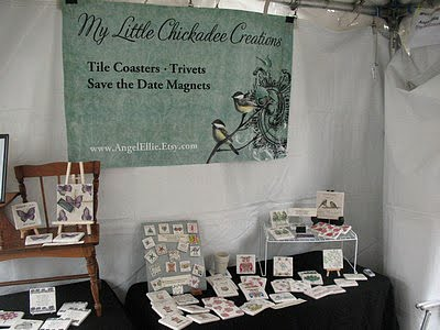 My First Outdoor Craft Fair Experience Display Ideas Handmadeology