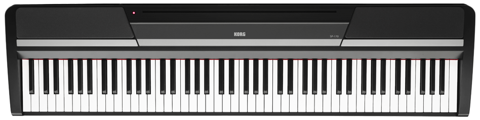 Az piano reviews review korg sp170 digital piano for Korg or yamaha digital piano