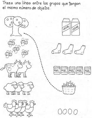 actividades matematicas para preescolar