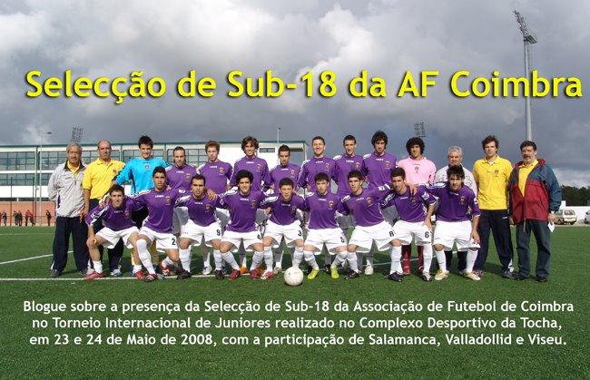 Selecção de Sub-18 AF Coimbra
