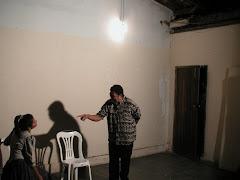Campanha do Teatro em Ribeirão das Neves, MG.
