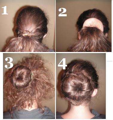 how to use a hair bun donut - photo #7