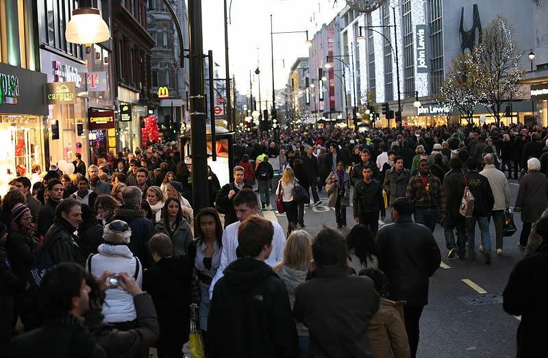 Visit England Oxford Street Shops