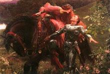 Lancelot e Guinevere- Tenho essa pintura em meu quarto...