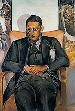 T.S. Elliot, retrato de Wyndham Lewis: Fragmentos de um Agon - Poemas inacabados