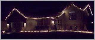 As You Can See, Our Christmas Light Display Is Clean And Classy. The  Spacing Is Perfect. Putting Up Christmas Lights This Way Is Not Very Tough  And Will ...