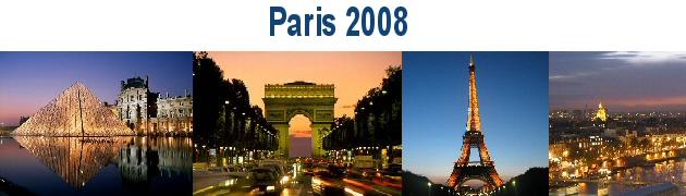 Paris e Berlim 2008
