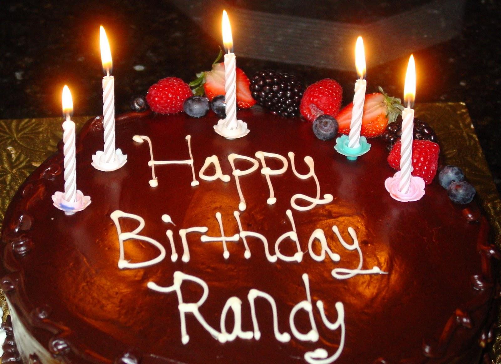 Randy Birthday Cake