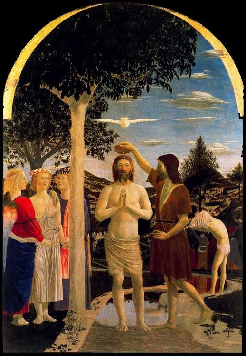 Escenografía de un cuadro. Piero della Franchesca