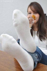 sock fetish white Girls