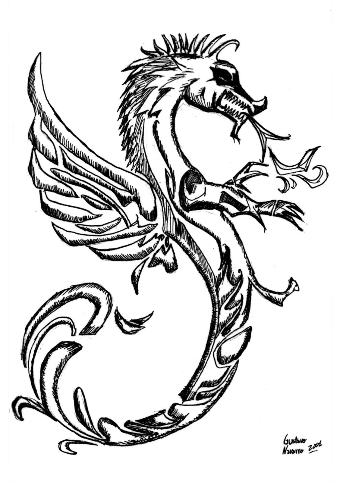 Asombroso Colorear Dragones Duros Galería - Enmarcado Para Colorear ...