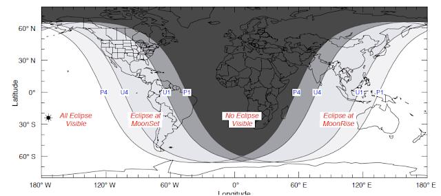 lunar eclipse on 26 june 2010 map