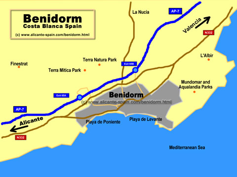 Benidorm Apartment: Information about Benidorm