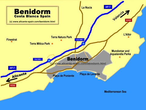 benidorm karta Benidorm Apartment: Information about Benidorm benidorm karta