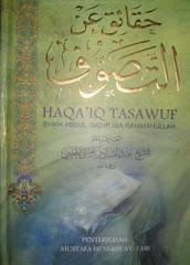 Buku Haqo'iq Ani At-Tasawwuf terjemahan ke Bahasa Melayu (versi 1)