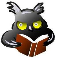 This owl seems bookish, but is he, really?