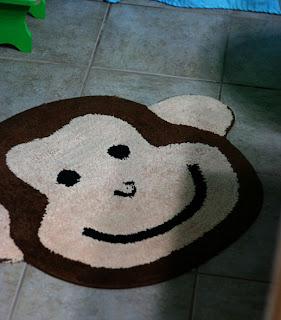 Sparklinbecks Monkey Bathroom