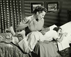 mother discipline spankings