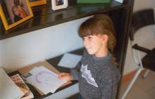 la niña que dibujaba