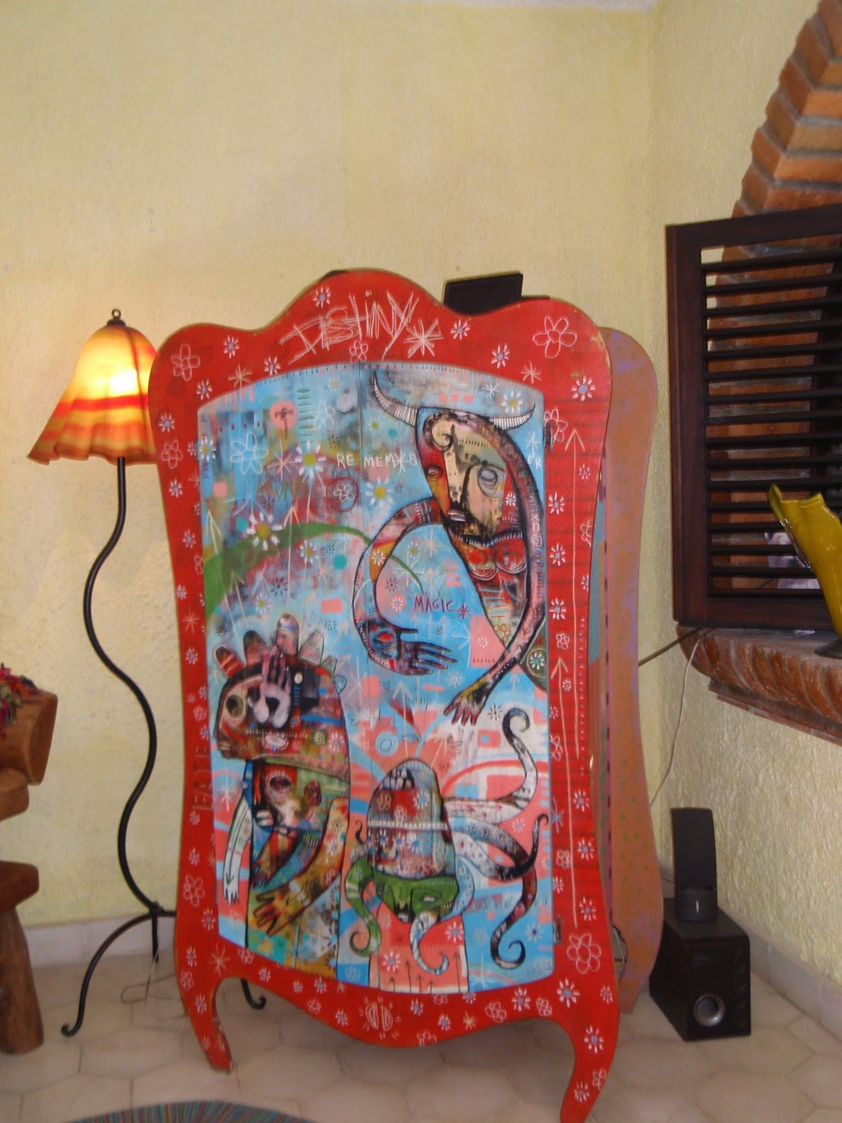 mexican home tour and art