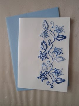 Sewing In Toronto Embroidered Cards