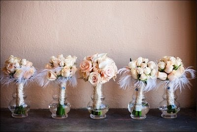 Simple Wedding Bouquet Hydrangea