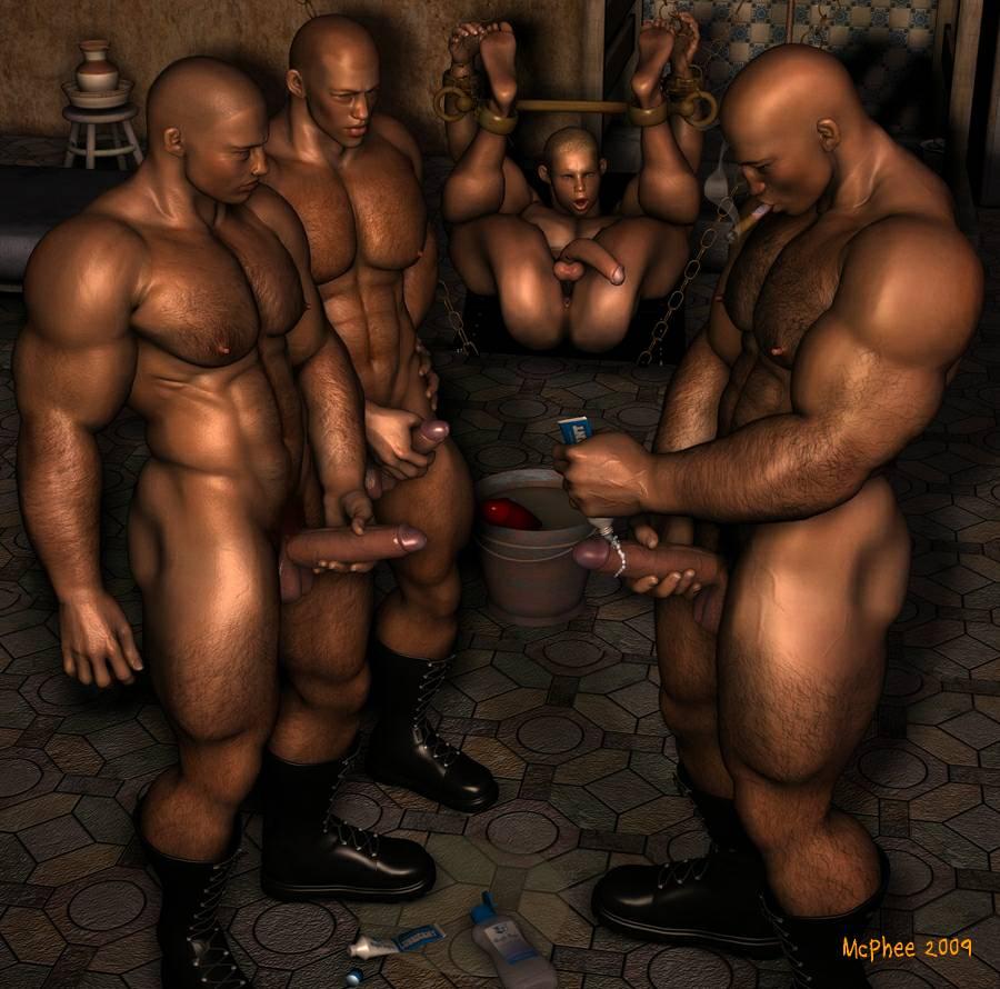 gay erotic art Rusty mcphee