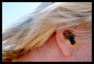 vatten i öronen