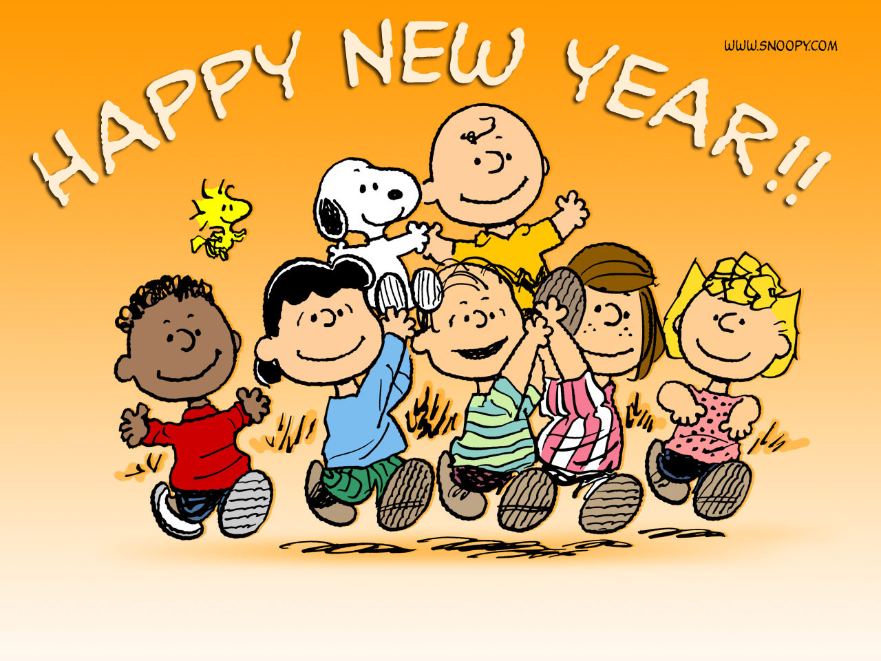 Happy New Year Charlie Brown Quotes: Shells: New Year Greetings