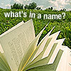 What's In a Name? Challenge