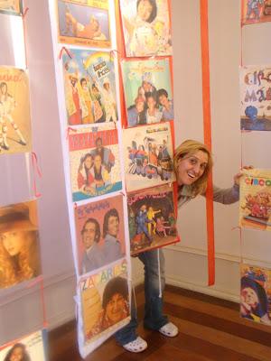 Cláudia Beraldo, que possui coleção de três mil titulos infantis