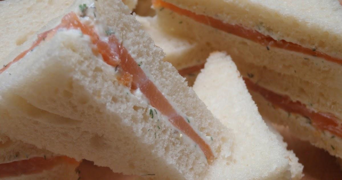 Vin De P 234 Che Smoked Salmon Tea Sandwiches