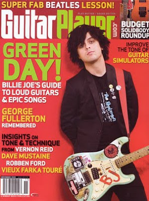billie joe magzine cover