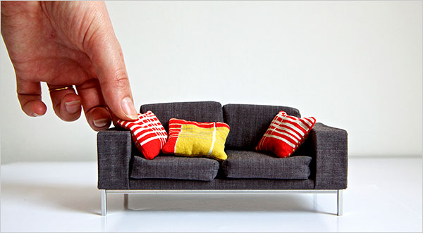 The Fashion Doll Chronicles: Modern Miniature Furniture In
